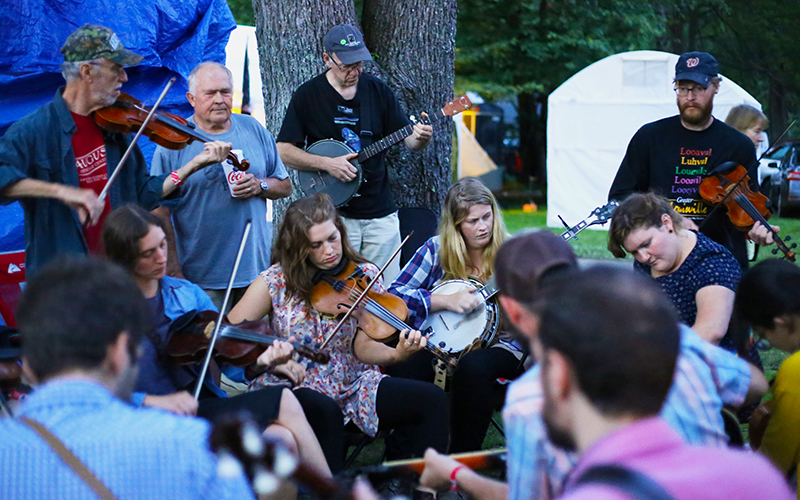 """Clifftop"" Appalachian String Band Festival 2016"